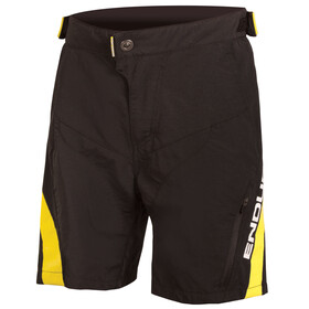 Endura MT500JR Cycling Shorts Children yellow/black